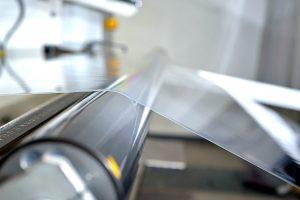 Die neue Anlage produziert Folien mit einer Breite von von 2.700 mm. (Bild: Evonik)