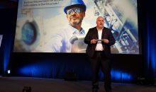 Matthias Altendorf, CEO von Endress+Hauser eröffnete den Sponsorenvortrag. Bild: Redaktion
