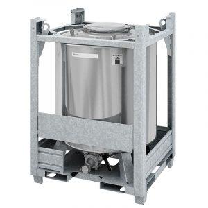 Contekt ist ein Spezialist für die Reinigung von IBCs in der chemischen Industrie. (Bild: Contek)
