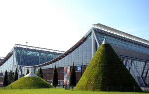Auf dem Messegelände Hannover wird nicht mehr die Cebit, weiterhin aber die Hannover Messe stattfinden. (Bild: Deutsche Messe)