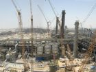 Megaprojects such as the Sadara complex, completed in 2017, are currently shaping chemical plant construction. Picture: Sadara
