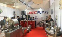 Die Pumpen von JEC waren auch auf der Achema 2018 zu sehen. (Bild: JEC)