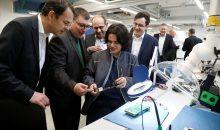 Bei der Eröffnung des Competence Center wurde unter anderem die Teststation für EMSR-Anlagen vorgestellt. (Bild: Infraserv Höchst)