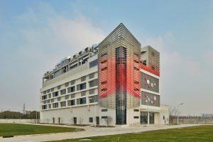 In den Aufbau der beiden neuen Zentren auf dem Innovation Campus in Shanghai hat BASF 35 Mio. Euro investiert. (Bild: BASF)