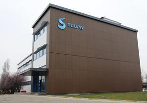 Solvay-Standort in Saint-Fons in der Nähe von Lyon. (Bild: Solvay)
