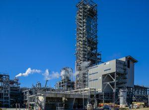 Das Petrochemie-Projekt von Sasol am Lake Charles in Louisiana umfasst einen Ethan-Cracker mit 470.000 t Jahreskapazität. (Bild: Technip FMC)