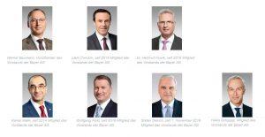 Bayer-Vorstand April 2019