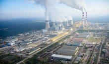 Mit einer Gesamtleistung von 5.420 MW ist das polnische Braunkohlekraftwerk Elektrownia Bełchatów das leistungsstärkste Kraftwerk Europas und somit auch der größte Kohlendioxid-Emittent des Kontinents. (Bildquelle: Wikipedia / Von Morgre - Eigenes Werk, CC BY-SA 3.0)