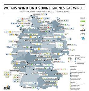 DVGW_Power-to-Gas- Anlagen - 273 MW Gesamtleistung geplant