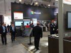 Auch Digitalisierungsriesen wie Microsoft, Google oder Amazon präsentieren in Hannover ihre Lösungen für die Industrie, vor allem Cloudservices. Die Hannover Messe läuft noch bis Freitag, 5. April 2019. (Alle Bilder: Redaktion)