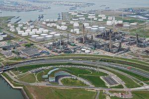 Nouryon_Machbarkeitsanalyse für 250-MW-Wasserelektrolyse in Rotterdam_BP Refinery overview