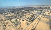 Erdgasverarbeitungsanlagen von Qatargas in Katar. Das Unternehmen ist mit einer jährlichen Produktionskapazität von 77 Millionen Tonnen der größte Produzent von Flüssigerdgas. (Bild: Qatargas)