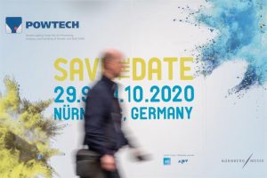 Nach einer erfolgreichen Powtech 2019 findet die nächste Schüttgut-Leitmesse vom 29. September bis 1. Oktober 2020 im Messezentrum Nürnberg statt. (Bild: Nürnberg Messe)