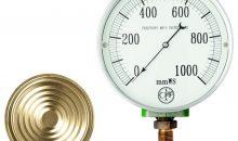 1924 gelingt Afriso mit dem Kapselfeder-Manometer der Einstieg in die Druckmesstechnik. Heute bietet AFRISO ein komplettes Sortiment an mechanischen und elektronischen Druckmessgeräten für nahezu jede Branche. (Bild: Afriso-Euro-Index)