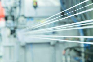 Glasfaserproduktion von Lanxess am Standort Kallo bei Antwerpen, Belgien. (Bild: Lanxess)