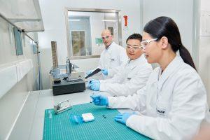 Der Innovation Campus in Shanghai ist der größte F&E-Standort der BASF in der Region. Mit der Investition in den Longwater Advanced Materials Fund unterstreicht BASF Venture Capital ihr Bestreben, die Innovationskraft der BASF in China weiter auszubauen. (Bild: BASF)