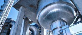 Die Envinox-Technologie von Thyssenkrupp reduziert die Stickoxid-Emissionen bei der Produktion von Düngemitteln. (Bild: Thyssenkrupp)