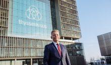 Der Thyssenkrupp-Vorstand um Chef Guido Kerkhoff hat die geplante Aufspaltung des Konzerns abgesagt. (Bild: Thyssenkrupp)