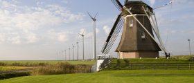 Versorgt werden soll die Anlage vom benachbarten Onshore-Windpark Westereems. (Bild: Innogy)