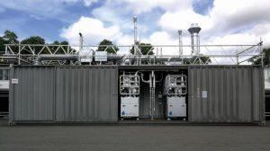 Sunfire steigert mit der weiterentwickelten Hochtemperatur-Elektrolyse di Leistungsfähigkeit von grüner Wasserstoffproduktion. (Bild: Sunfire)