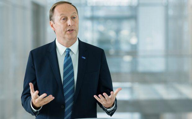 Wayne T. Smith Mitglied des Vorstands der BASF. (Bildquelle: BASF)