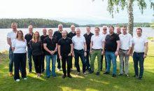 Das Pumpenvertriebsteam von Telfa – sie sind die neuen Ansprechpartner für Pumpen und Pumpsysteme von Flux in Schweden. Bild: Flux