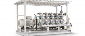LDG5-Ecoflow-Membranpumpe, eines der Modelle, die im Rahmen des Großprojekts nach Abu Dhabi geliefert werden. (Bild. Lewa)