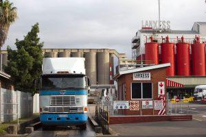 Lanxess produziert seine Chromchemikalien in Südafrika – hier der Standort Merebank. (Bild: Lanxess)
