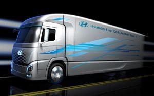 Hydrospider soll die Brennstoffzellen-Lkw-Flotte von Hyundai in der Schweiz mit Wasserstoff versorgen. (Bild: Hyundai)