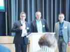 So wurde beispielsweise mit Sven Seintsch, Bilfinger, und Michael Pelz, Clariant, die Frage diskutiert, wie die Digitalisierung von Brownfieldanlagen erfolgen kann.