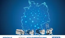 Verder erweitert durch die Übernahme von Koch Pumpentechnik sein Portfolio an Produkten, Know-how und Service in ganz Deutschland. (Bild: Verder)