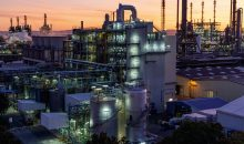 Produktionsanlage für das Fungizid Xemium am BASF-Verbundstandort in Ludwigshafen. (Bild: BASF)