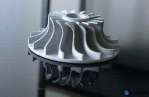 Die Online-Plattform ermöglicht die Herstellung von Bauteilen in verschiedenen additiven Fertigungsverfahren. (Bild: Sculpteo)