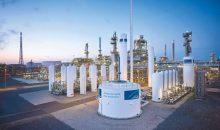 Linde hat in Leuna mit dem Bau einer neuen Wasserstoff-Verflüssigungsanlage begonnen. Bild: Linde