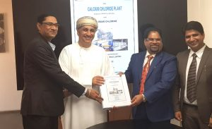 Der Vertrag wurde in der Zentrale von Oman Chlorine in der omanischen Hauptstadt Muscat unterzeichnet. (Bild: Nuberg EPC)