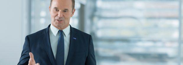 """Martin Brudermüller, CEO und CTO der BASF """"Die Transformation mag schwierig sein, …aber es ist möglich, wenn wir alle es wollen."""""""