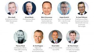 Der Fachbeirat zum 7. Engineering Summit setzt sich aus namhaften Vertretern des europäischen Anlagenbaus zusammen.