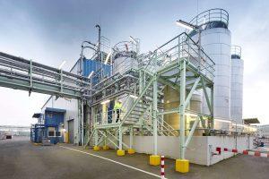 Clariant betreibt seine Produktionsanlagen am Standort Knapsack zukünftig komplett mit Ökostrom - Bild Clariant