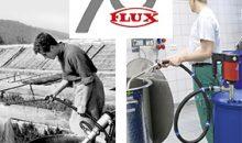 Flux feiert 70-jähriges Jubiläum der elektrischen Fasspunpe. (Bild: Flux)