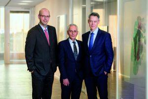 Die neue Geschäftsführung der Krohne Messtechnik GmbH (v. l. n. r.): Dr. Michael Deilmann, Ingo Wald und Lars Lemke