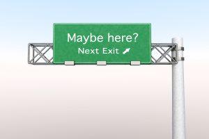Nächste Ausfahrt - Maybe