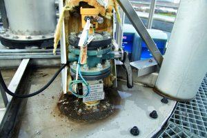 2 Blick hinter die Verkleidung - der Prozess erfordert Druckmessgeräte, die robust, Ex-Sicher und für den Außeneinsatz geeignet sind