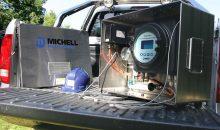 Bild 4 – Condumax II Kohlenwasserstoff-Taupunkt-Analysator in der transportablen Version