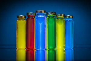 OLED-Materialien für Displayanwendungen sind ein wachsender Markt. (Bild: Merck)
