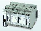 Der modulare Ethernet-HART-Multiplexer eröffnet die Möglichkeit, HART-Geräte via Ethernet zu parametrieren und zu überwachen Bild: Phoenix Contact