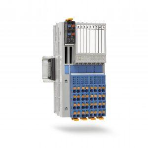 Die I/O-Module der Produktfamilie Axioline F in Schutzart IP20 stehen demnächst auch für den Ex-i Bereich zur Verfügung Bild: Phoenix Contact