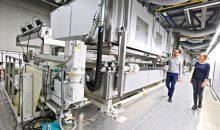 Mit dem neuen Werk steigert Herma die jährliche Haftmaterial-Kapazität um 50 Prozent auf 1,2 Mrd. m2.