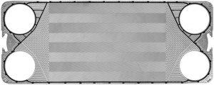 Kelvion Wärmetauscher-Platte NX350M