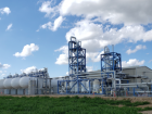 Nordansicht der neuen CO2-Anlage in Keyes, Kalifornien. (Bild: Messer)