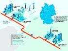 Ab Ende 2022 soll einöffentlich zugängliches Wasserstoffnetz Industrieunternehmen in Niedersachsen und NRW mit grünem Wasserstoff versorgen. Das Projekt der Partner Evonik, BP, RWE, Nowega und OGE wäre das erste seiner Art in Deutschland.Mehr zum Projekt Bild: Evonik